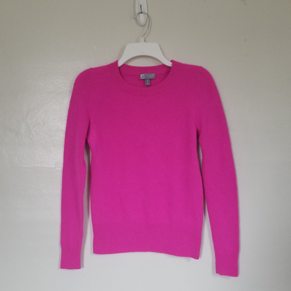 fc5ec596 JCP Sweaters | 100 Cashmere Womens Pink Crew Neck Sweater Small ...